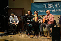 Group Siyanved is playing Turkish Music