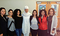Group picture with Harsimrit Kaur Khalsa.