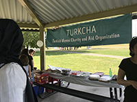 Turkcha Banner is hanging