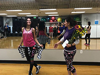 Our zumba instructor Surabhi Chauhan